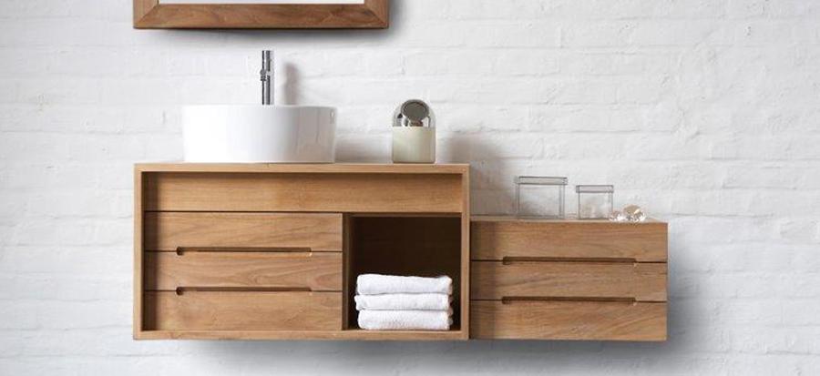 bespoke basins, baths and bathroom furniture  finwood designs, teak bathroom furniture uk