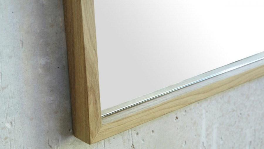 Wood Framed Bath Mirrors Oak Bathroom Mirror Oak Framed Bathroom Mirror Unusual Wood Framed: Finwood Designs